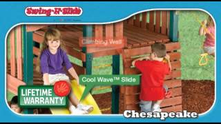 Chesapeake Play Set By Swing-n-slide