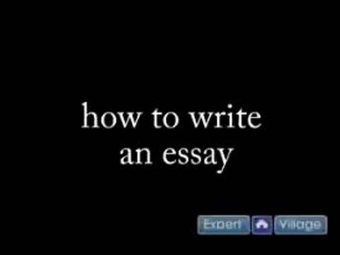 how to write an essay what is the purpose of an essay  how to write an essay what is the purpose of an essay