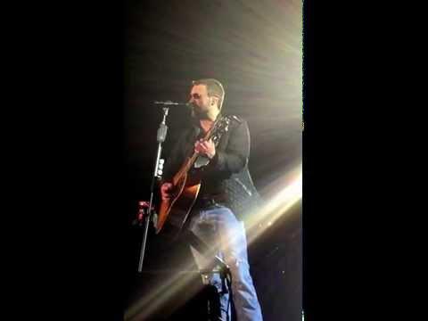 Eric Church Springsteen Thunder Road Salt Lake City 1312015 just Eric himself acoustic