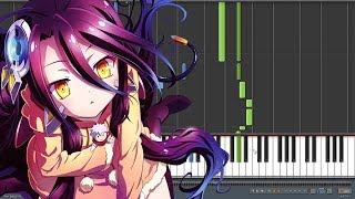 There is a Reason - No Game No Life Zero ED (Piano Synthesia)