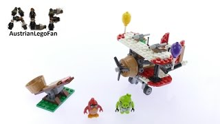 Lego Angry Birds 75822 Piggy Plane Attack - Lego Speed Build Review