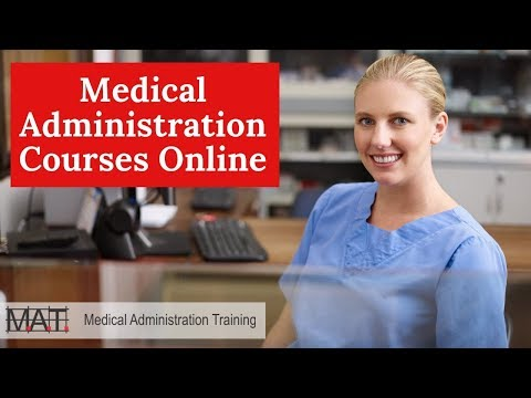 Medical Administration Courses - Online Medical Administration Training
