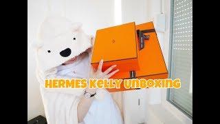 Скачать 爱马仕Hermes 2 只kelly一起开箱 一丢丢Kelly对比测评 Hermes Kelly Unboxing