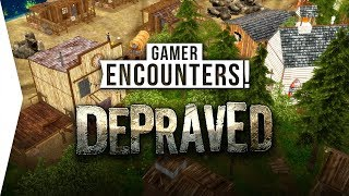 Depraved ► Wild West Banished & RimWorld City-building Game - [Gamer Encounters]