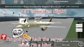 ROBLOX | emirates flight