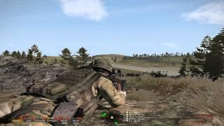 "ARMA 3 ""bCombat ASR GL5 Wolfpack A.I. Test"""