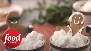 Gingerbread People in Gingerbread Hot Chocolate Tubs  Food Network