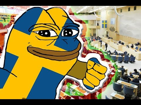 Election year in Sweden...
