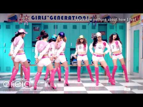 【HD REMIX 리믹스】 SNSD 소녀시대  Oh! areia remix