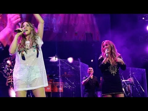 Karina ft. Jimena Barón - La Tonta (Luna Park 14/10/17)