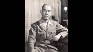 この音声は1964年に海兵75期の方によってなされた井上成美海軍大将への...