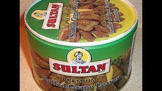 Accidentally Vegan Ethnic Food Review: Sultan Stuffed Grape Leaves (dolmas)