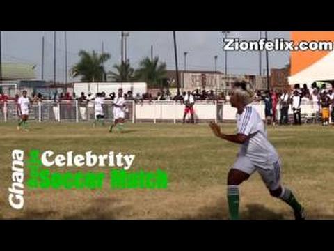 Ghana-Naija Female Celeb Soccer Match - Funny