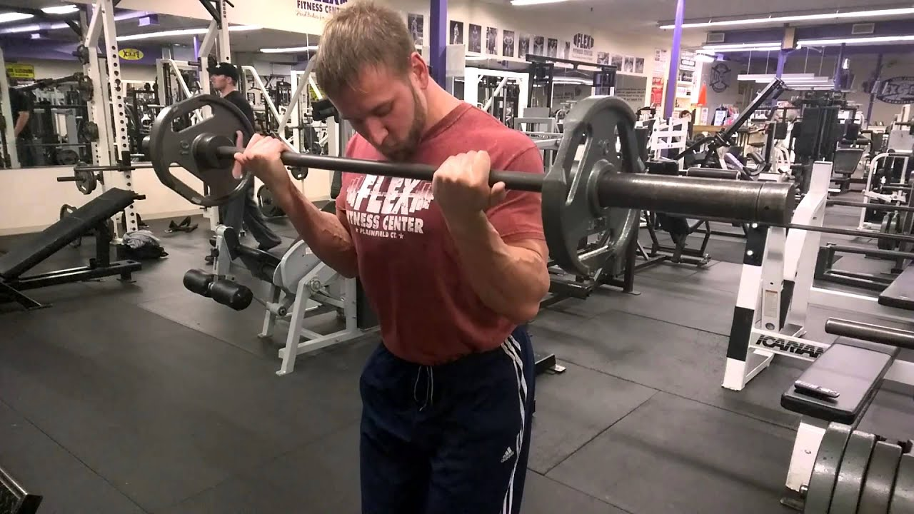 FLEX FITNESS CENTER- Arms- Andrew Cosker - YouTube