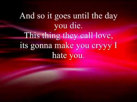 Adam Sandler - Love Stinks(With Lyrics)