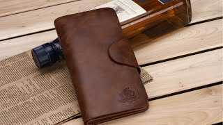 Купить мужское кожаное портмоне Carwallet(Наш интернет-магазин - http://simshop.biz/ Наша группа в