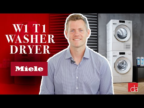 Miele W1 Washer & T1 Dryer: First Look