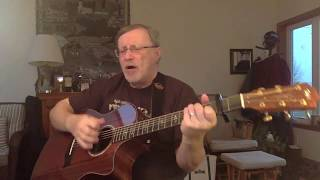 1731  - First Of May -  Bee Gees vocal and acoustic guitar cover with chords