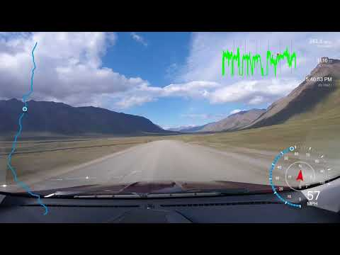 Dalton Highway Timelapse 2 of 2 (Coldfoot to Deadhorse)