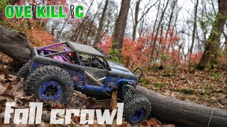 Dusting Off the Axial Wraith Ford Bronco for a Fall Trail Run | Crawling | Overkill RC