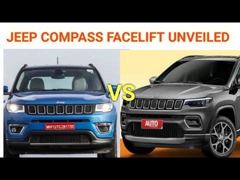 2020 Jeep Compass Facelift Unveil On June 4|Jeep Compass Facelift All Changes Explained|Compass Jeep