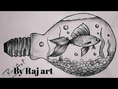 fish-drawing-pencil-sketch-step-by-step.fish-sketch-very-easy.painting-by-raj-art-ajmer.