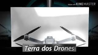 Drone SJRC F11 - Voando sobre litoral de SP