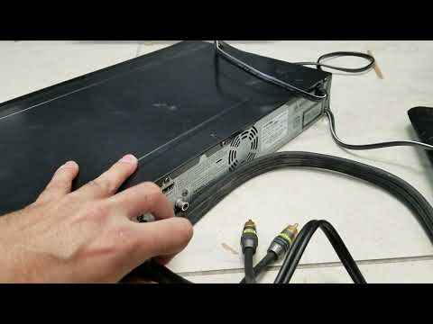 Toshiba DR420 DVD Recorder Returned And Tested Working And Described Correctly