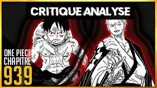 Critique Analyse chapitre one piece 939 : Un nouveau Haki pour battre Kaido