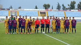 UEFA Youth League: Apoel - FC Barcelona (2-3, Highlights)