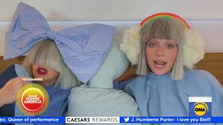 Sia performs her song, 'Together,' featuring Maddie Ziegler