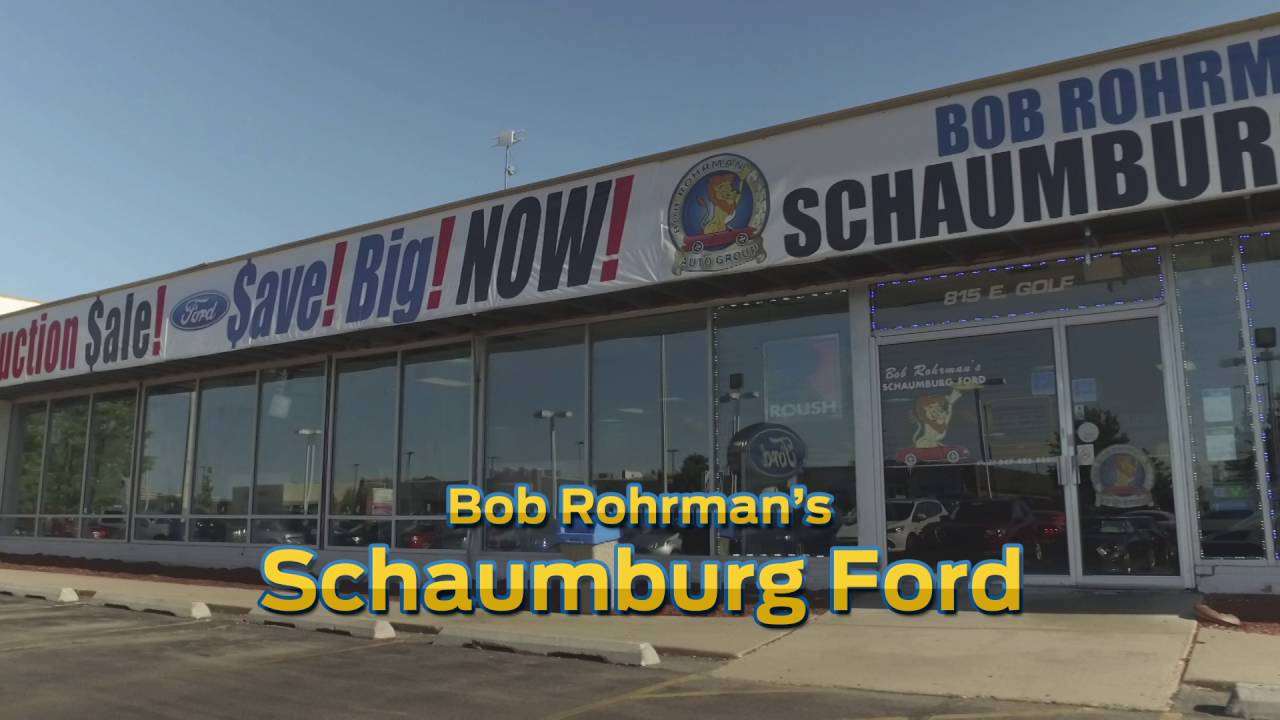 Bob Rohrman Ford >> Schaumburg Ford August 2016