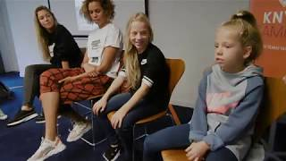 Voor NIKE bij de KNVB in Zeist samen met ANOUK HOOGENDIJK en ROCKY!!!