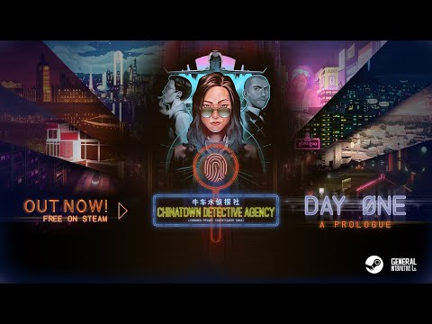 Chinatown Detective Agency: Prologue Trailer | OUT NOW on Steam