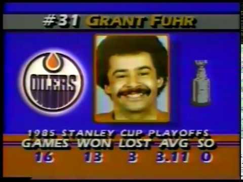 NHL - 1985 - Stanley Cup Finals - Edmonton Oilers Vs Philadelphia Flyers - Game 4