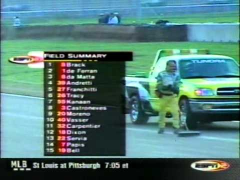 CART.2001.Round 17.Rockingham.500 Full Race