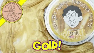 Crazy Aaron's Chanukah Gelt Real Gold Thinking Putty