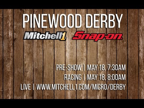 Pinewood Derby 2017 - Mitchell1 / Snap-on