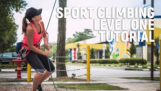 Introduction to Sport Climbing Level 1 Tutorial | MOA Academy
