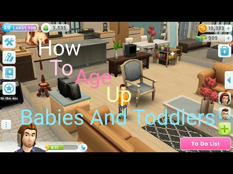 The Sims Mobile - How To Age Up Your Babies And Toddlers After August Update