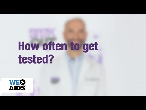 #AskTheHIVDoc 8: How Often? (1:07)