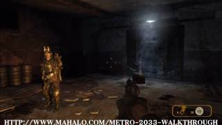 Metro 2033 Walkthrough - 8 Days Earlier
