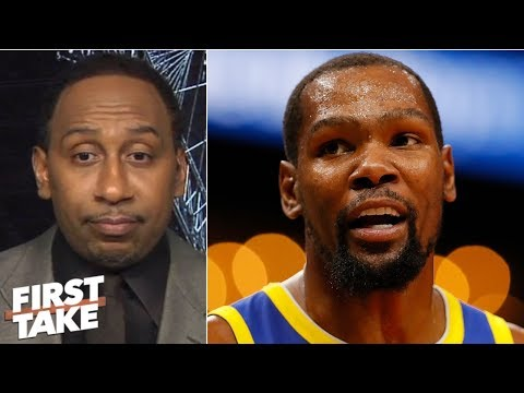 Stephen A. agrees with Kevin Durant's take on why NBA stars are hesitant to join LeBron | First Take