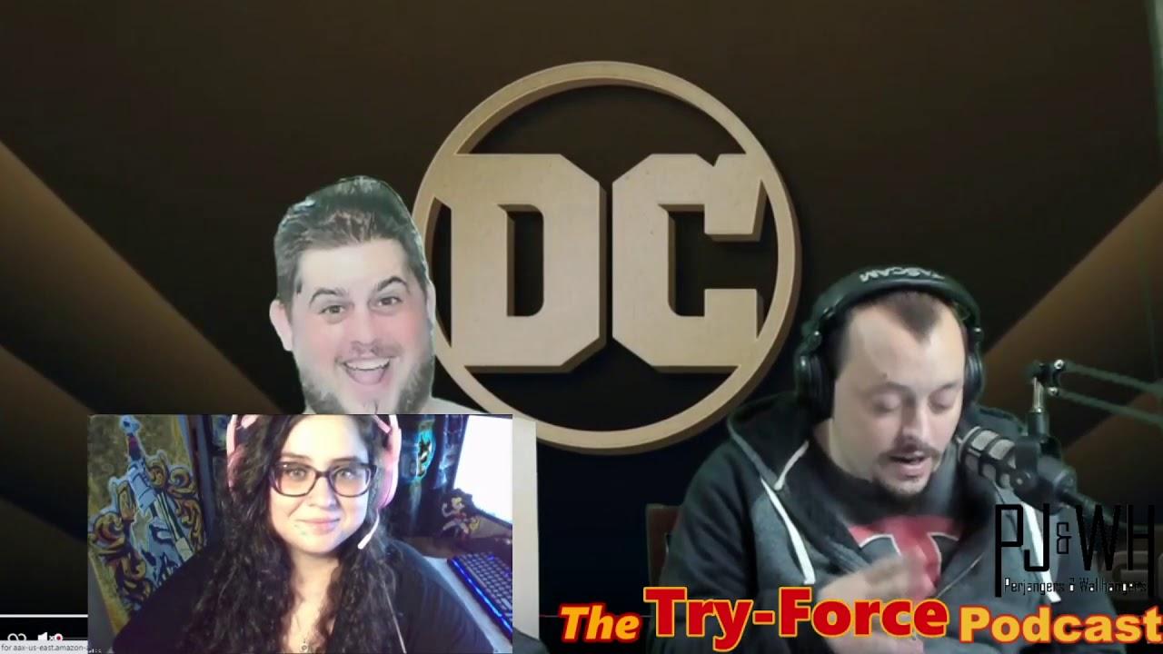 #194 Try Force Podcast From CockKnocker To MyFisto: A Mark Hamill Journey