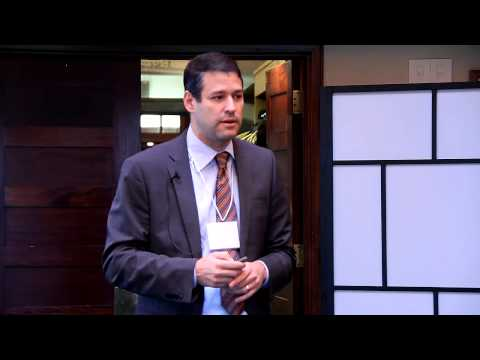 Mike Kessel (CEO of Cleveland Clinic Canada) at IRONSHIELD Financial Planning's Client Event 2014