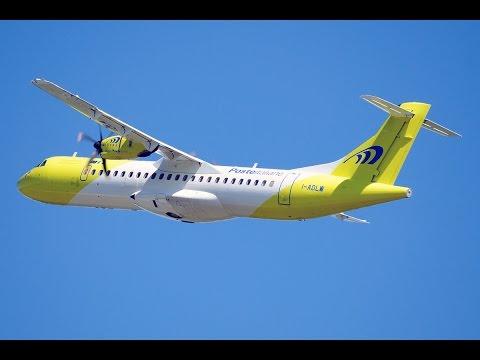 ATR 72-500 BARI - TIRANA *full flight*
