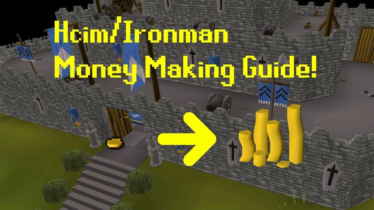 [Osrs] Hardcore / Ironman Money Maker Guide