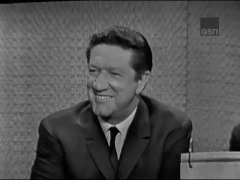 What's My Line? - Richard Boone;  Phyllis Newman [panel]; Martin Gabel [panel] (Aug 18, 1963)
