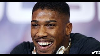 Anthony Joshua in The Hot Seat Plus More Boxing Talk