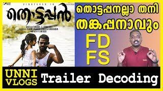 Thottappan Official Trailer Reaction Review Decoding Vinayakan Shanavas K Bavakutty Unni Vlogs